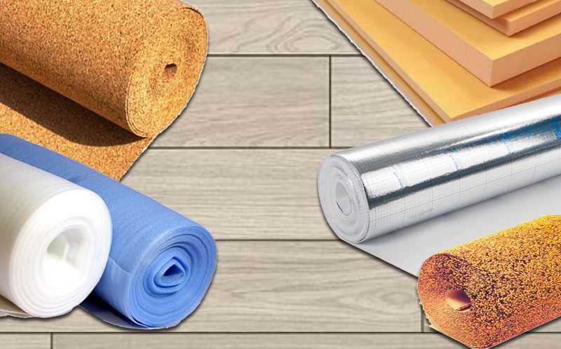 Какую подложку выбрать под ламинат на бетонный пол