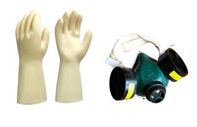 Индивидуальные средства защиты для работы с лаками