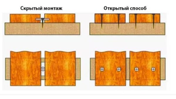 Монтаж декинга