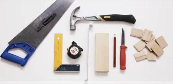 Набор инструментов для укладки паркетной доски