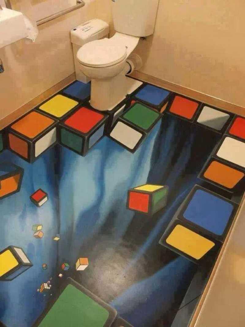 Объемные кубики