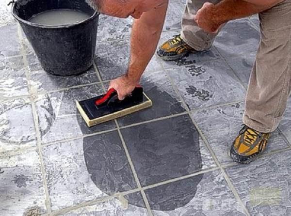 Очистка ФЭМ от цемента