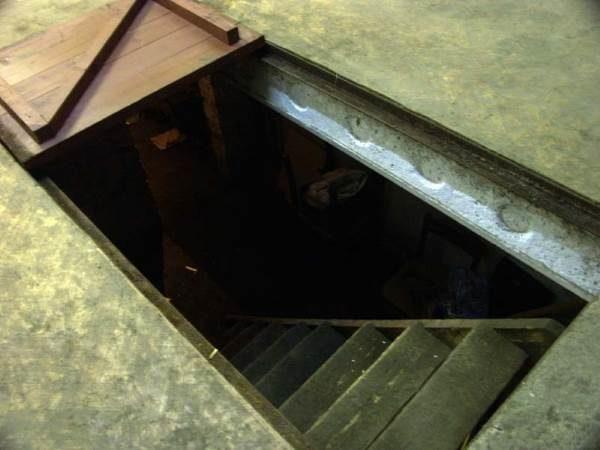 Плита перекрытия - пол гаража