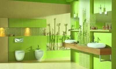 Природные мотивы в дизайне ванной комнаты