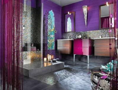 Восточный стиль в ванной