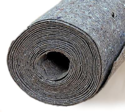 Подложка под линолеум из льна, джута и шерсти