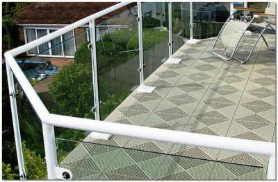 Керамическая плитка с шершавой поверхностью - долговечное покрытие для открытого балкона