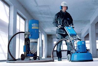 Использование профессионального оборудования гарантирует качество шлифовки бетонного пола