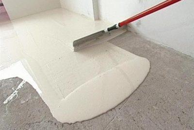 Заливка полимерного пола в ванной