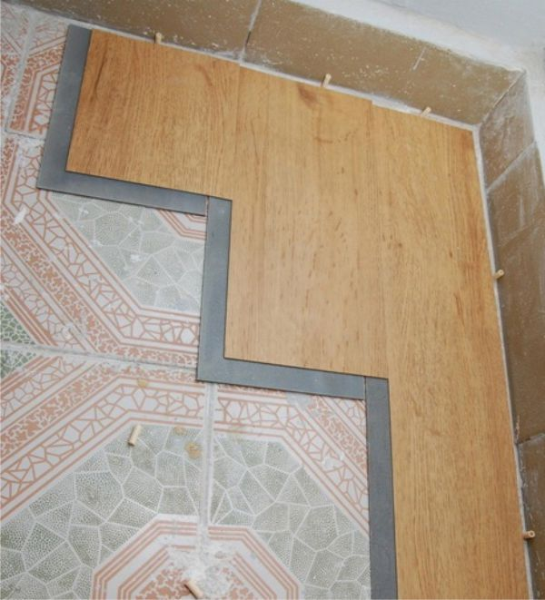Ламинат в декорировании стен
