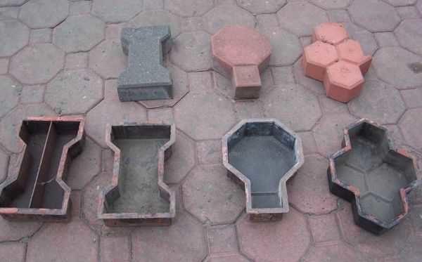 Промышленные формы для брусчатки