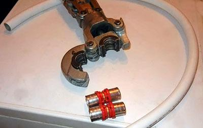 Детали необходимые для ремонта водяного отопления