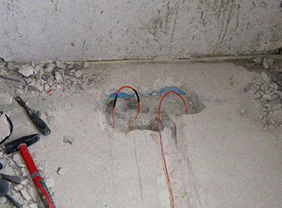 Ремонт электрического теплого пола