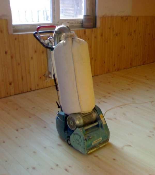 Шлифовальная машина для деревянного пола