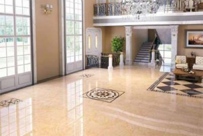 Керамогранит отлично подходит для оформления роскошных жилых помещений