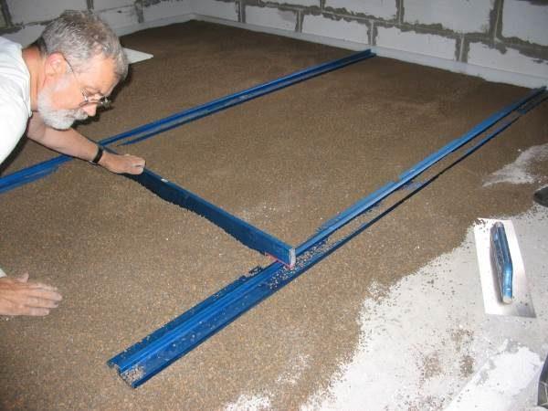 Выравнивание плит