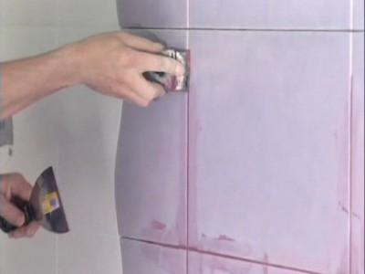 Затирка для швов плитки - разнообразие цветовых решений