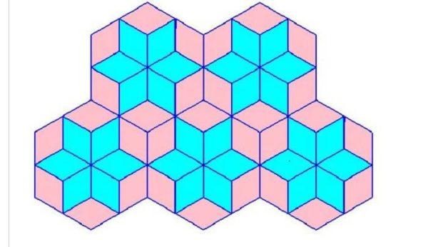 Звезда с шестиугольниками